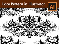How to draw Lace Patterns with Brushes in Adobe Illustrator