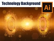 How to make a Technology Background in Adobe Illustrator