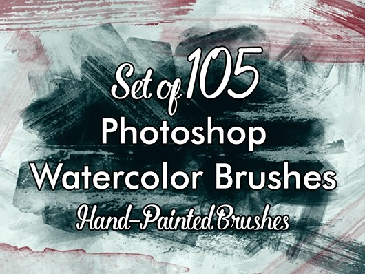 PS Watercolor Brushes 02