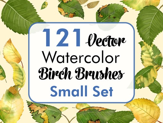 Birch Brushes Small Set