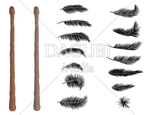 Palmtree Illustrator Brushes
