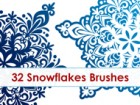Snowflakes Brushes