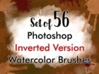 PS Watercolor Brushes 01 Invert