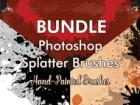 Bundle - PS Splatter Brushes
