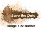 Save the Date Grunge