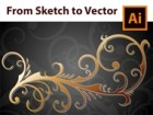 How to Design a Floral Frame from Sketch to Vector in Adobe Illustrator