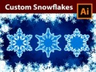 How to Design Custom Snowflakes in Adobe Illustrator