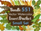 Bundle - Leaves Brushes Small Set