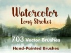 Long Brush Strokes