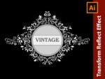 How to design a Vintage Ornate Frame in Adobe Illustrator