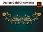 How to create a Gold Border - Adobe Illustrator