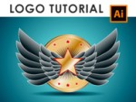 How to make a Wings Logo in Adobe Illustrator