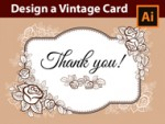 How to design a Vintage Card in Adobe Illustrator