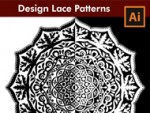 How to design a Lace Pattern - Adobe Illustrator Tutorial