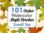 Maple Brushes Small Set