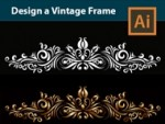 Design a Vintage Design Element in Adobe Illustrator