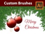 How to create Custom Brushes for Pine Branches - Adobe Illustrator Tutorial