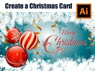 How to design a Christmas Card in Adobe Illustrator