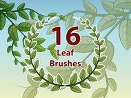 16 Leaf Brushes