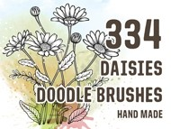 Daisies Doodle Brushes