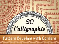 Calligraphic Pattern Brushes