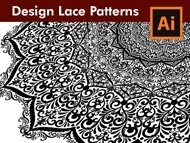 How to Draw a Mega Scrollwork Lace Pattern in Adobe Illustrator