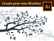 How to Draw Tree Branches - Adobe Illustrator Tutorial