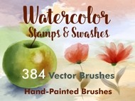 Stamps Washes Watercolor