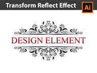 Draw with the Transform Reflect Effect in Adobe Illustrator