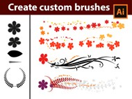 How to create your own brushes in Adobe Illustrator