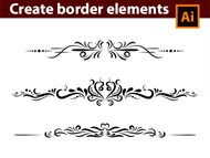 Adobe Illustrator Tutorial - How to Design Vintage Border Elements