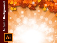 How to create an Autumn Background in Adobe Illustrator