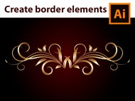 Adobe Illustrator - How to design a Gold Border