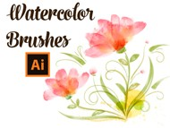 Draw with Watercolor Brushes in Adobe Illustrator