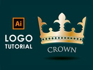 How to design a Crown Logo - Illustrator Tutorial