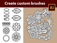 How to create Doodle Brushes in Adobe Illustrator