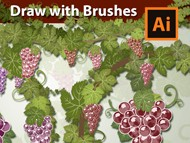 How to draw with Brushes in Adobe Illustrator