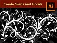 How to draw Florals - Swirls - Flourishes in Adobe Illustrator