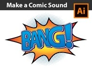 How to make a Vector Comic Sound in Adobe Illustrator