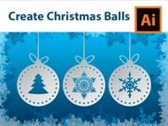 How to Make Decorative Christmas Balls - Adobe Illustrator Tutorial