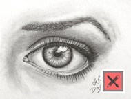 How to Draw a Realistic Eye - Drawing Time Lapse