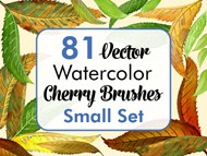 Cherry Brushes Small Set