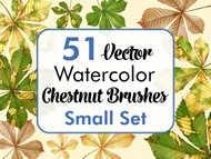 Chestnut Brushes Small Set