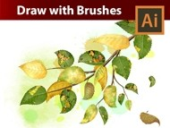Create an Autumn Illustration with Birch Leaves Brushes in Adobe Illustrator