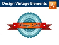 Design a Vintage Label - Adobe Illustrator Tutorial