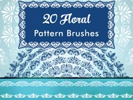 Floral Pattern Brushes