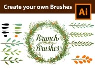 How to create custom Branch Brushes in Adobe Illustrator