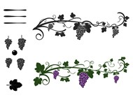 Grapes Brushes