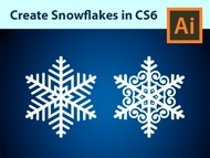 How to Create Custom Snowflakes - Adobe Illustrator CS6 Tutorial