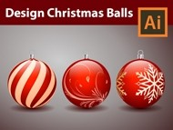 How to Design Decorative Christmas Balls - Adobe Illustrator Tutorial